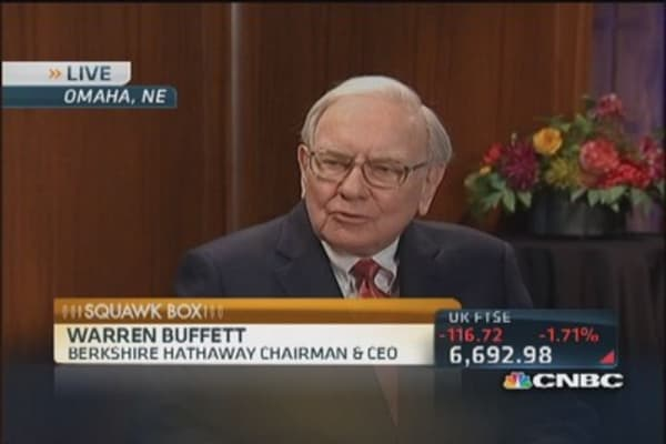 Activist investors in for quick buck, nothing wrong with that: Buffett