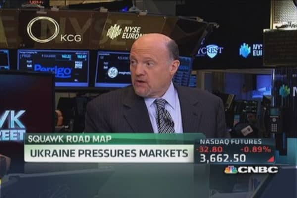 Cramer: Have seen crisis drive down markets