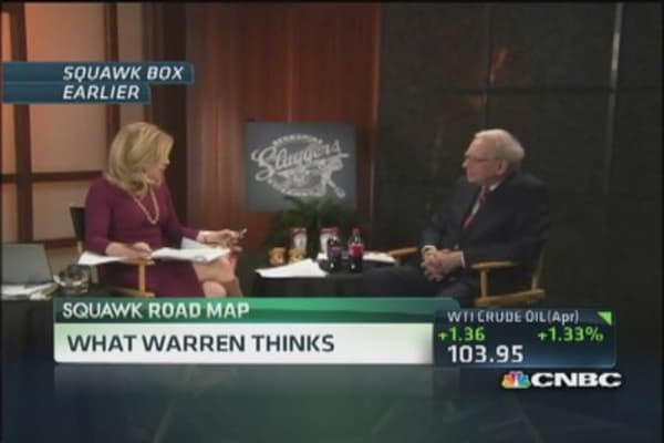 Warren Buffett on Keystone Pipeline