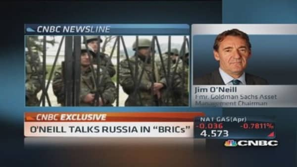 O'Neill on Ukraine: Germany has most to lose