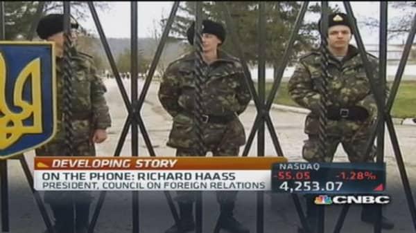Putin's agenda unknown: Richard Haass