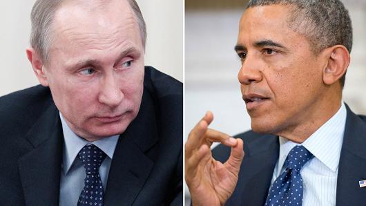 President Vladimir Putin and President Barack Obama.