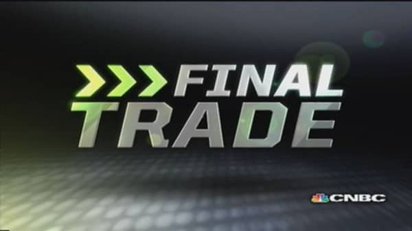 Fast Money Final Trade: SBUX, GLD, FUN