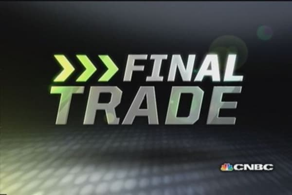 Fast Money Final Trade: SBUX, GLD, FUN