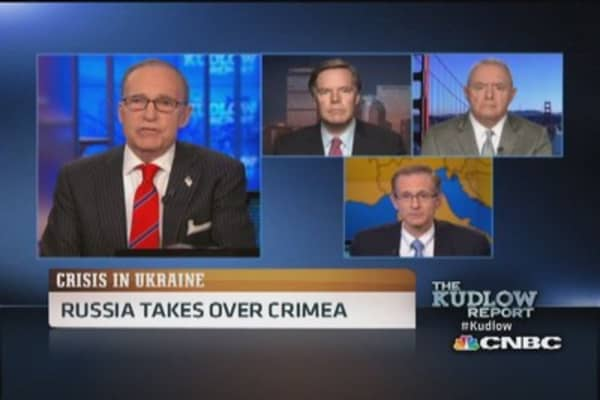 Russians will never end military control of Crimea: Gen. McCaffrey