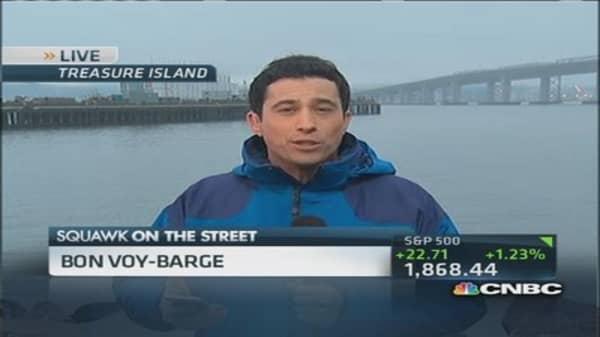 Bon voyage to Google's barge