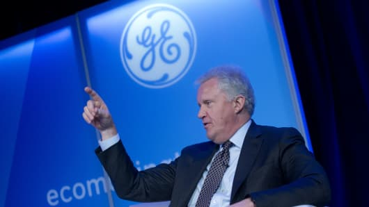 Jeff Immelt, chairman and chief executive officer of General Electric Co.