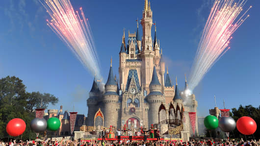 The Magic Kingdom park at Walt Disney World Resort.