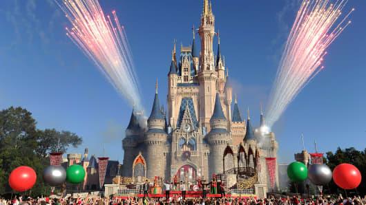 The Magic Kingdom park at Walt Disney World Resort.