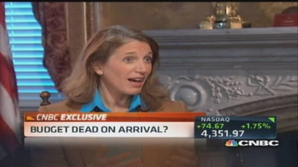 OMB Director Burwell: Influencing debate on fiscal policies