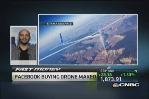 Facebook to fly high with drones