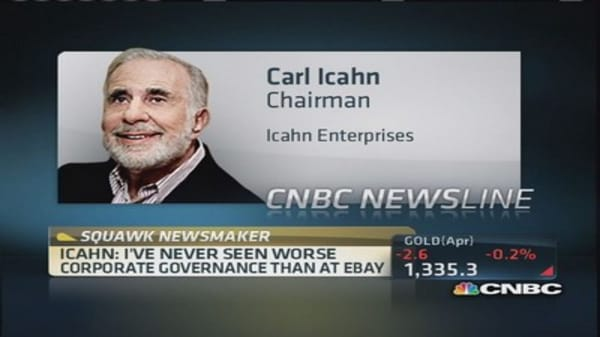 Carl Icahn: No bidders for Skype a myth