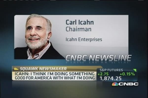 Carl Icahn: Tim Cook doing pretty good job