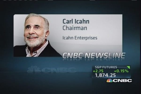 Carl Icahn: If it weren't for this country, I'd still be on streets of Queens