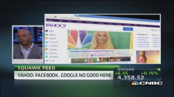 Yahoo to end logins with Facebook and Google