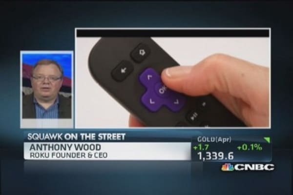 Roku CEO: Always pushing technology forward