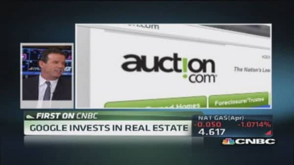 Auction.com knocked on Google's door: CEO