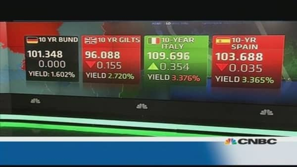 Europe shares close lower ahead of Ukraine talks