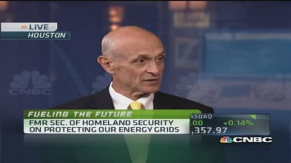 Chertoff: Energy grid security will become more complicated