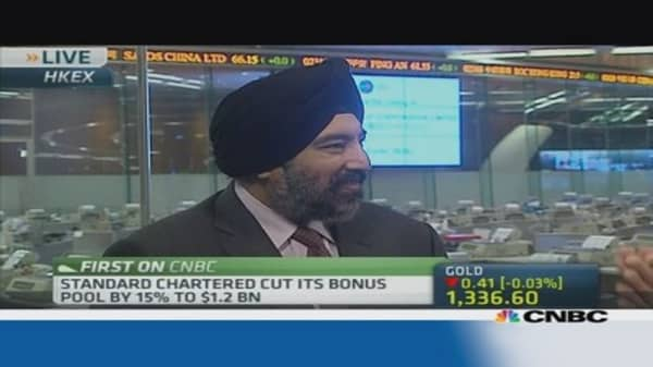 StanChart CEO: We still had a very good year