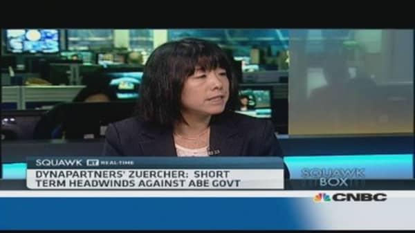 Abenomics facing short-term 'headwinds': Pro