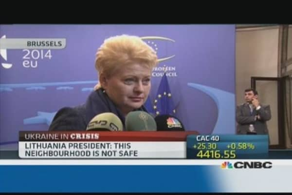 Russia is 'dangerous': Lithuanian President