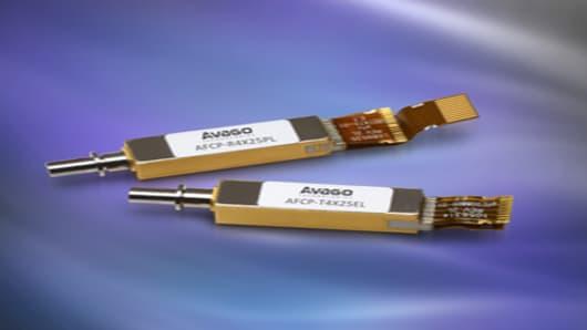 Avago AFCP-T4X25EL and AFCP-R4X25PL