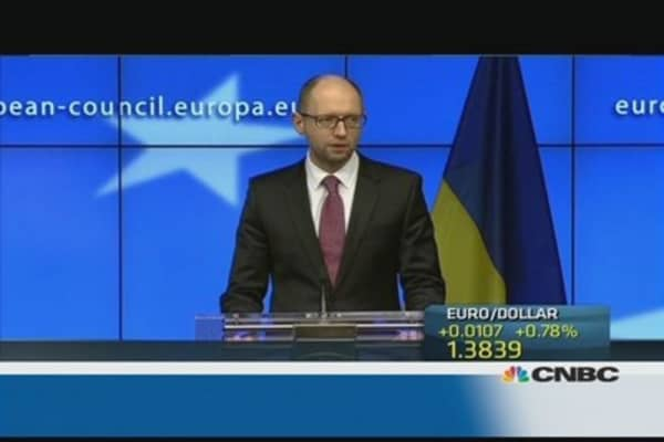 Ukraine in 'desperate financial plight': PM