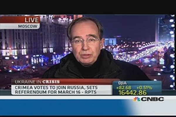Crimea vote: Positive reaction in Moscow