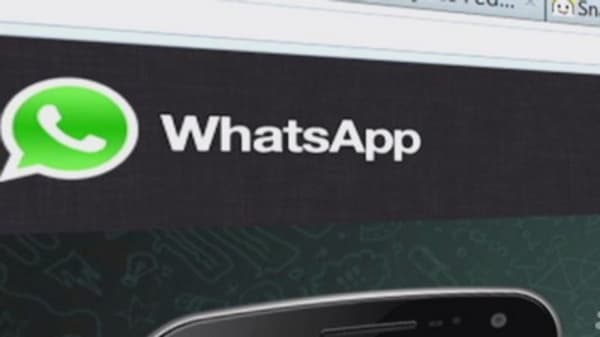 Tech Yeah!  Overpaying for Whatsapp