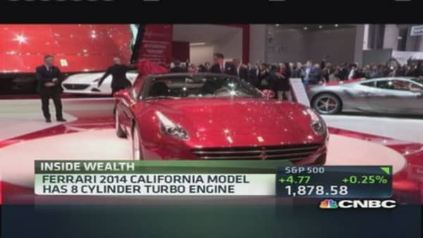 A Ferrari for the 'entry-level' millionaire