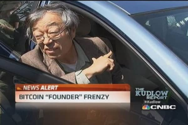 Father of bitcoin found in Calif.