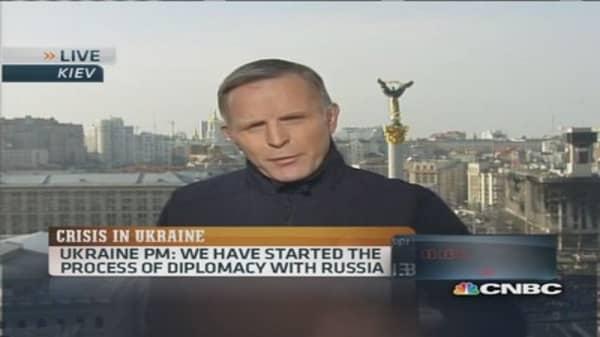Ukraine PM: 'No concessions' on Crimea