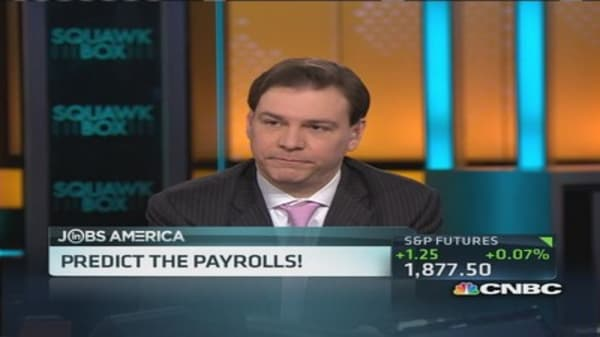Panel predicts the payrolls!