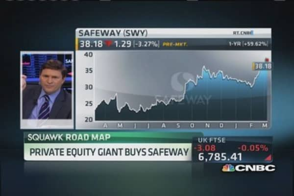 Safeway snatched up by PE firm