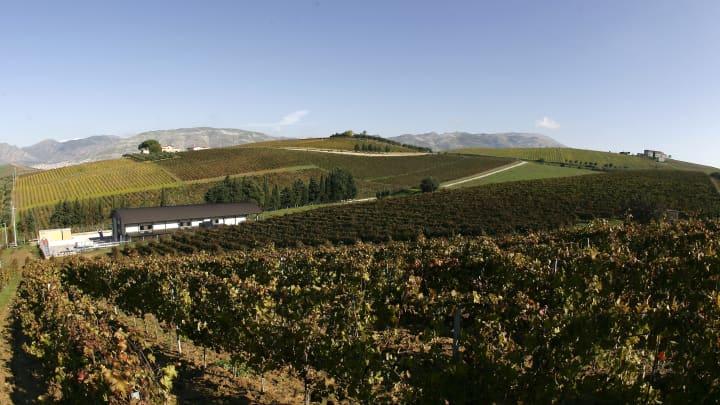 Southern Italy landscape.
