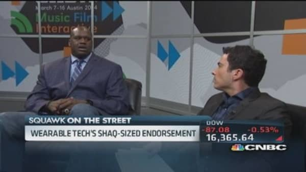 Shaq: I'm anxious to see this new iWatch