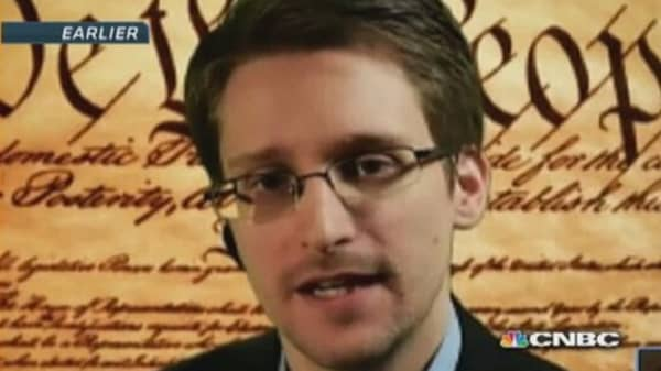 Edward Snowden greeted warmly at SXSW