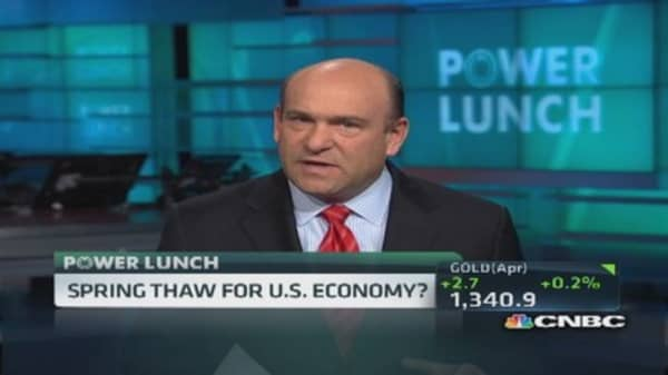 Thaw coming, US economy to heat up: Liesman