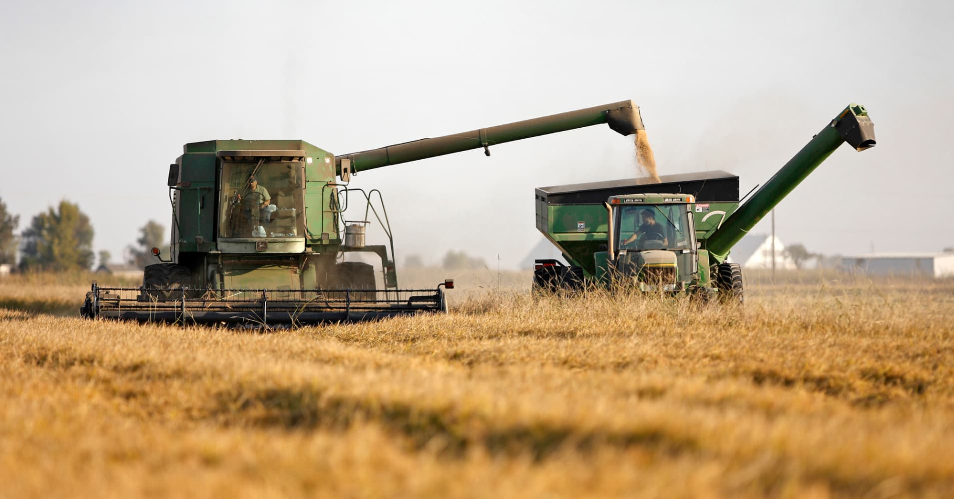 State Of American Farming Big Producers Dominate Food