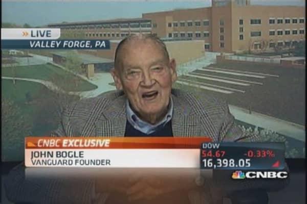 Jack Bogle: Risky territory for market