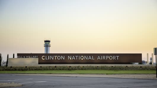 In 2013, Little Rock National Airport was renamed Bill and Hillary Clinton National Airport.