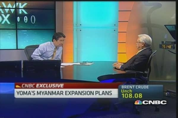 Yoma's foray into Myanmar