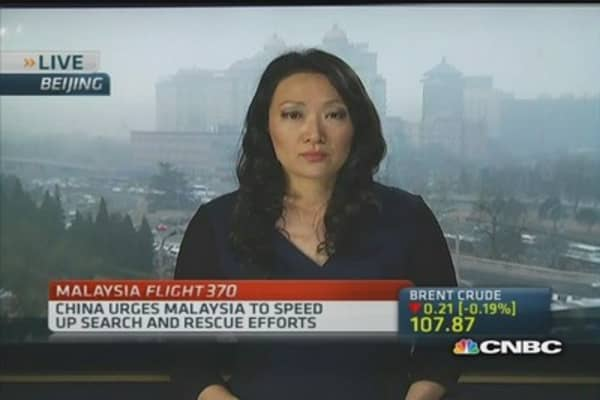 MH370 families angry at Malaysia Airlines
