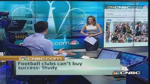 Cash does not propel club success: Study