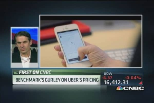 Gurley: In defense of Uber's surge pricing