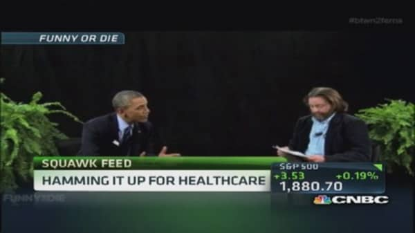 Pres. Obama on Galifianakis' Between Two Ferns