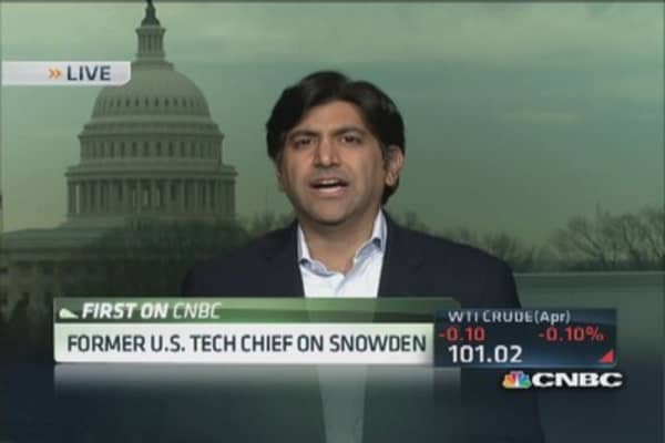 Aneesh Chopra: Snowden had his chance