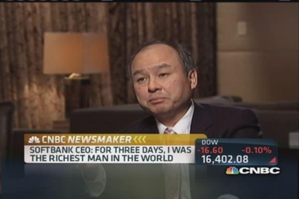 Masayoshi Son:  Lost a billion a year for 4 years
