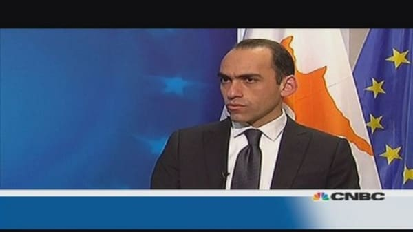 Cyprus minister: 'Problems in the past'